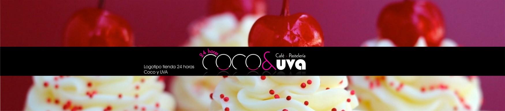 Logotipo Coco y UVA